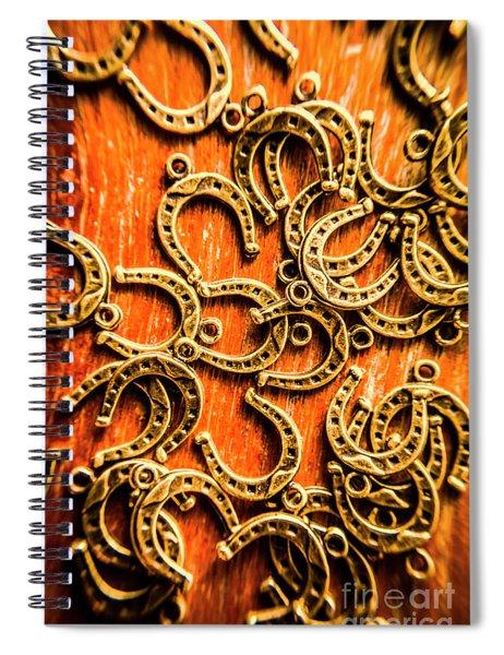 Equestrian Luck Spiral Notebook