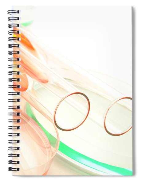 Equipment In Science Research Lab Spiral Notebook