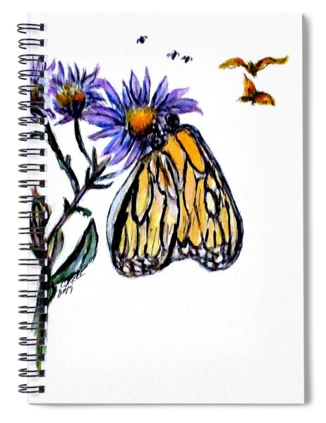 Erika's Butterfly One Spiral Notebook
