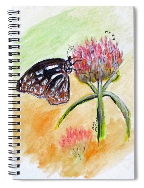 Erika's Butterfly Two Spiral Notebook