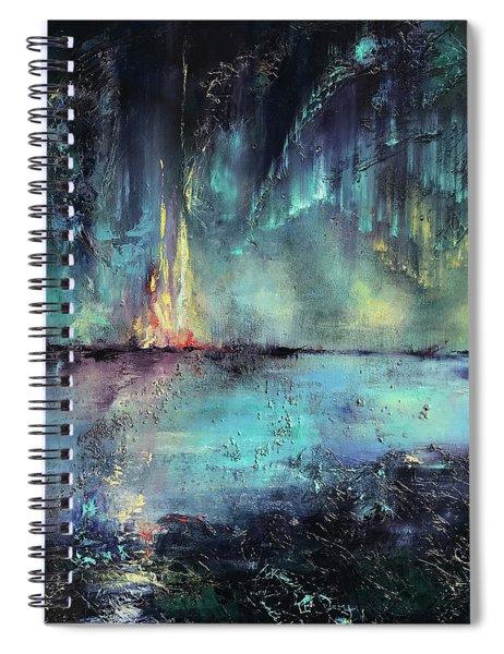 Erluption Spiral Notebook