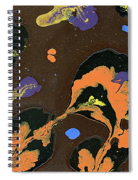 Eroded And Corroded Spiral Notebook