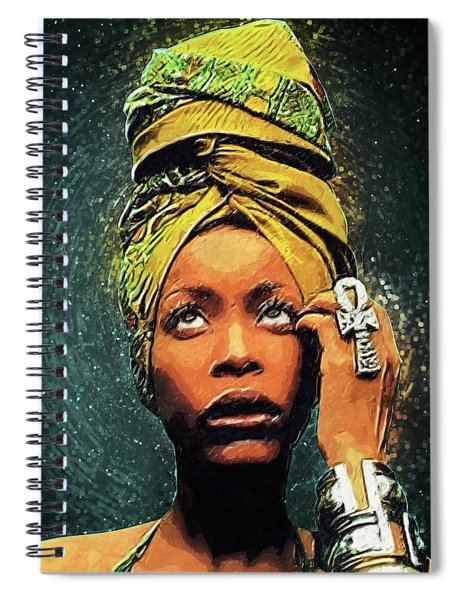 Erykah Badu Spiral Notebook