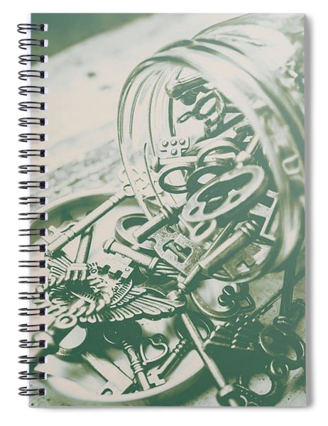 Escapade Spiral Notebook