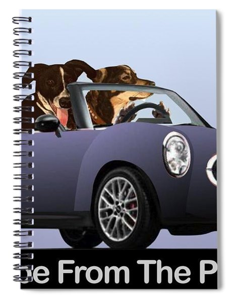 Escape From The Pound Spiral Notebook