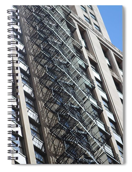 Escaping A Chicago Brownstone Spiral Notebook