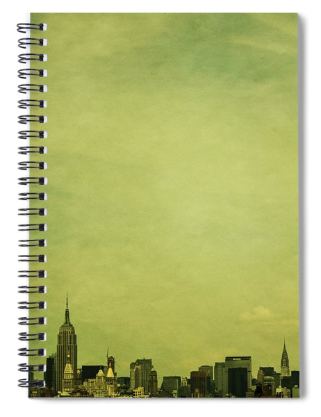 Escaping Urbania Spiral Notebook