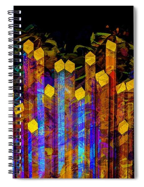 Essence De Lumiere Spiral Notebook