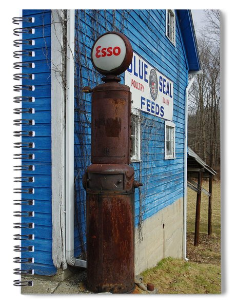 Esso On The Farm Spiral Notebook