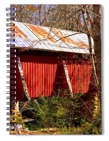 Est. 1909 Campbell's Covered Bridge Spiral Notebook