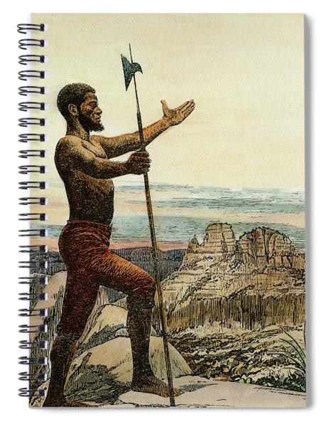 Esteban, Fl. 1527-39 Spiral Notebook
