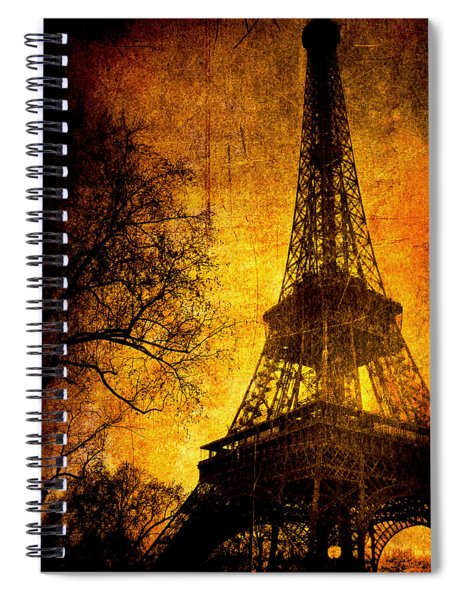 Esthetic Luster Spiral Notebook