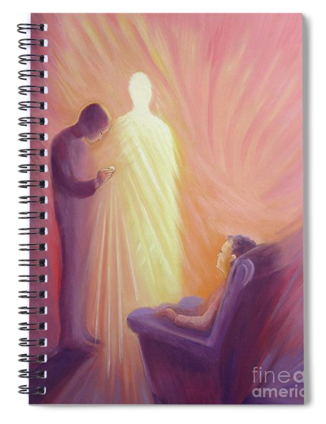 Jesus Christ Comes To Us In Holy Communion Spiral Notebook