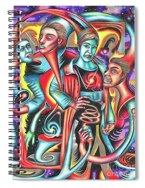 Eternal Discord Of Entwined Temptations Spiral Notebook
