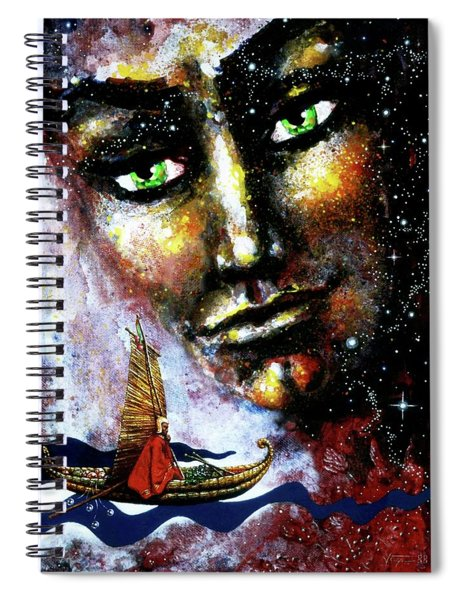 Eternal  Voyage Spiral Notebook