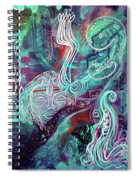 Eternal Woman Spiral Notebook