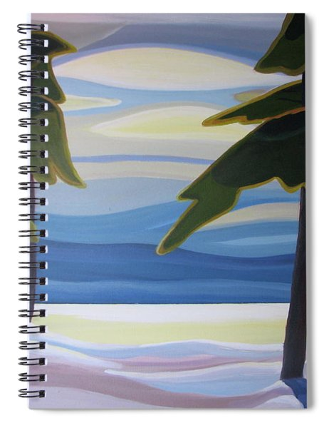 Ethereal Spiral Notebook