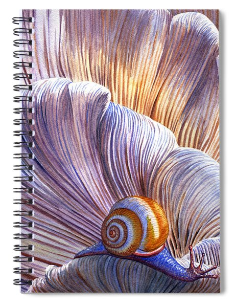 Etherial Spiral Notebook