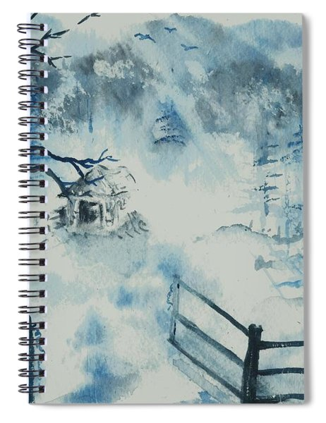 Ethereal Morning  Spiral Notebook