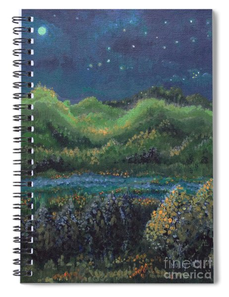 Ethereal Reality Spiral Notebook