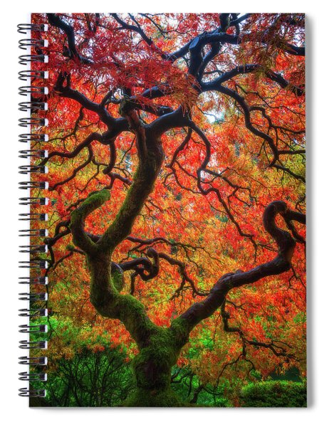 Ethereal Tree Alive Spiral Notebook