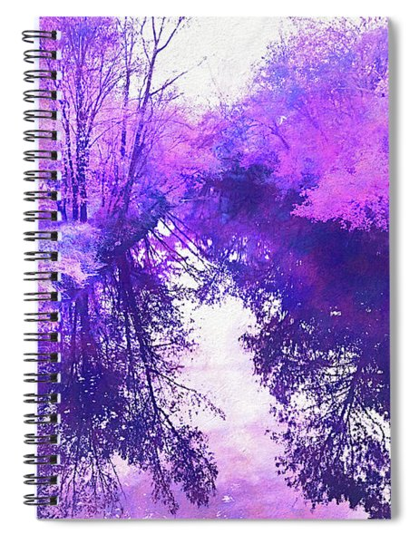 Ethereal Water Color Blossom Spiral Notebook