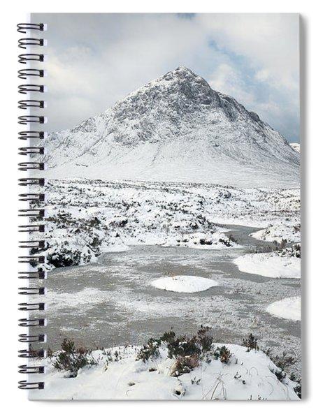 Etive Mor Winter Spiral Notebook