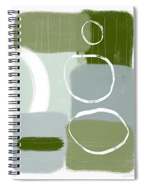 Eucalyptus Breeze  2- Art By Linda Woods Spiral Notebook