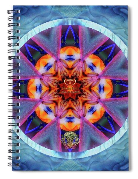 Eudaimonia-custom1 Spiral Notebook