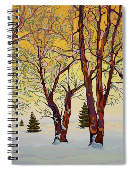 Euphoric Treequility Spiral Notebook