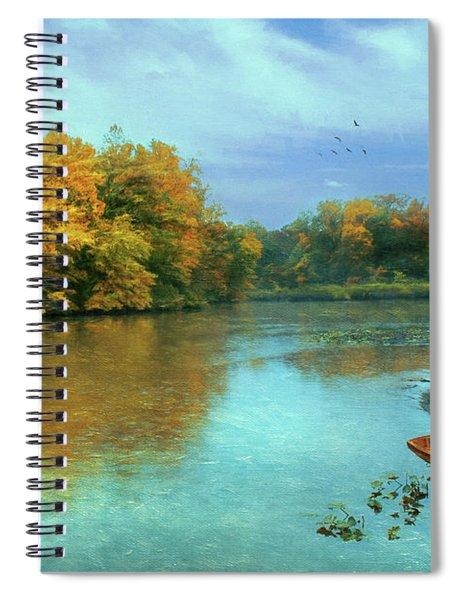 Evans Pond Spiral Notebook