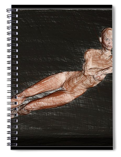 Eve Created For Adam Spiral Notebook