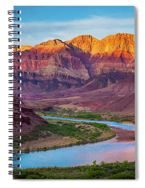 Evening At Cardenas Spiral Notebook