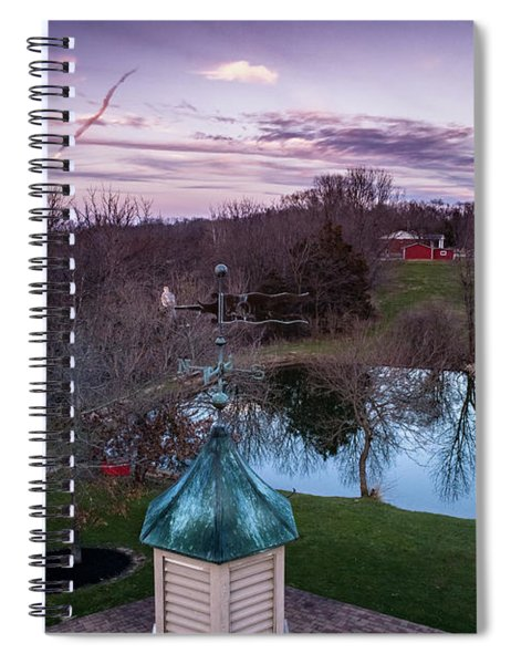 Evening Dove Spiral Notebook