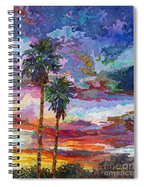 Evening Glow Spiral Notebook