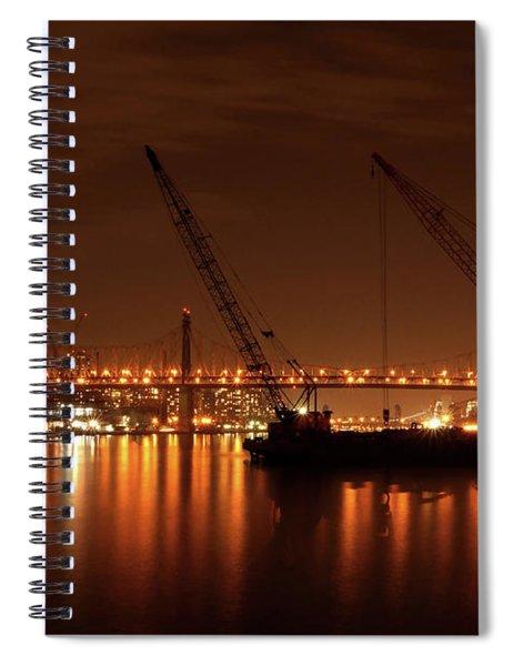 Evening Illumination Spiral Notebook