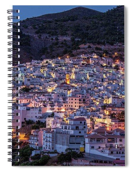 Evening In Competa Spiral Notebook