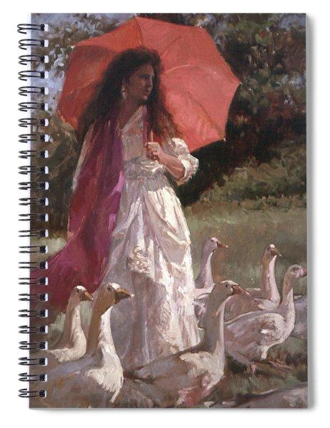 Evening Interlude Spiral Notebook