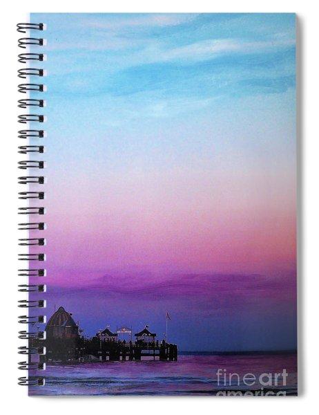 Evening Mood Spiral Notebook