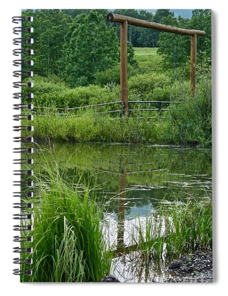 Evening Reflection Spiral Notebook
