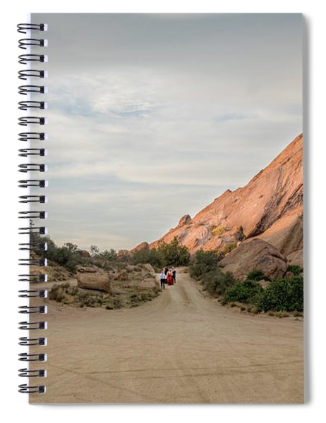 Evening Rocks By Mike-hope Spiral Notebook