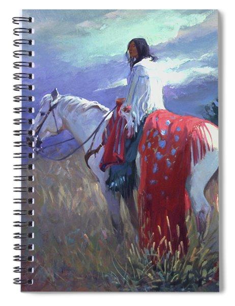 Evening Solitude L. E. P. Spiral Notebook