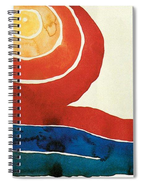 Evening Star IIi Spiral Notebook