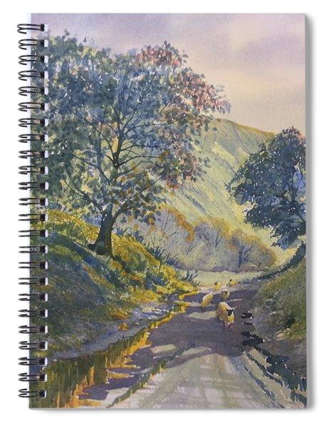 Evening Stroll In Millington Dale Spiral Notebook