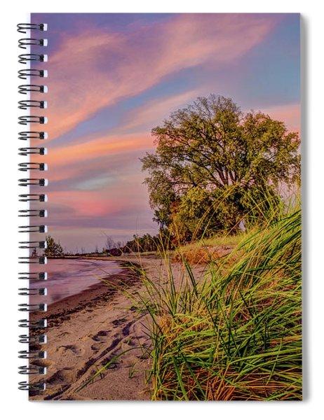 Evening Sunset Spiral Notebook