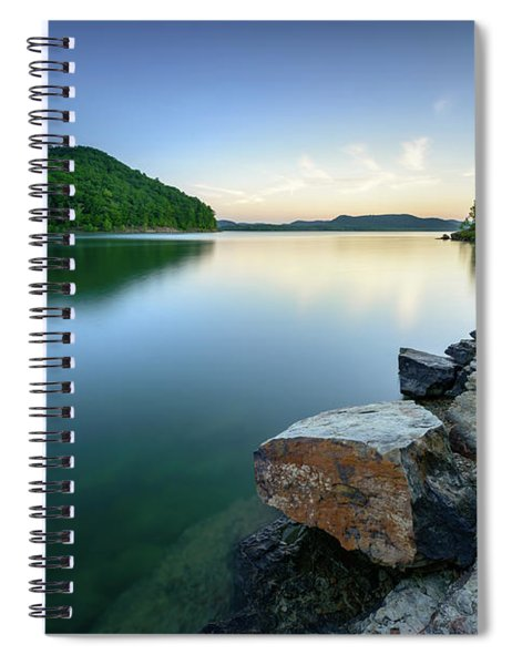 Evening Thoughts Spiral Notebook
