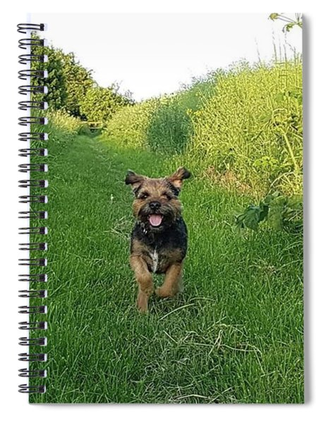 Walkies Joy Spiral Notebook