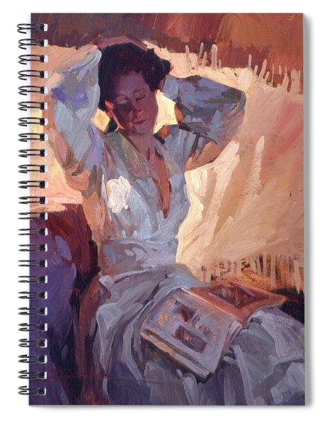 Evening Warmth Spiral Notebook