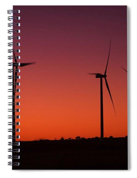 Evening Wind Spiral Notebook