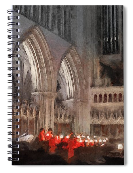 Evensong Practice At Wells Cathedral Spiral Notebook